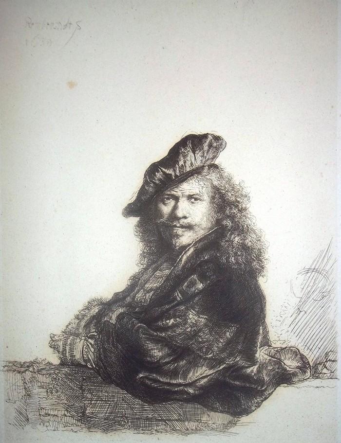 """Rembrandt van Rijn, """"Autoportret"""", 1639 (źródło: materiały prasowe organizatora)"""