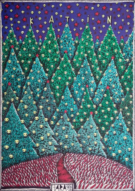 """Tara (von Neudorf) """"Katin"""", 70x50cm, 2009; ze zbiorów Anaid Art Gallery (źródło: materiały prasowe)"""