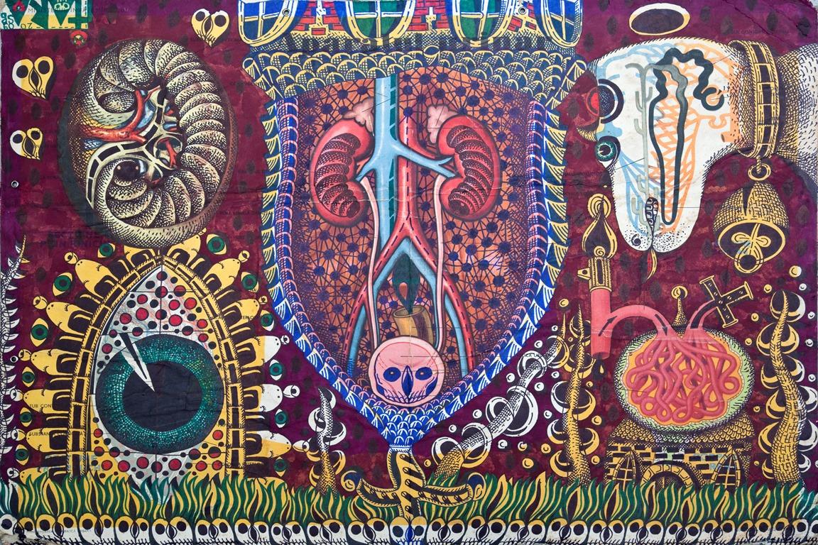 """Tara (von Neudorf) """"Ravasel (Rosch)"""", 68x97,5 cm, 2009; ze zbiorów Anaid Art Gallery (źródło: materiały prasowe)"""