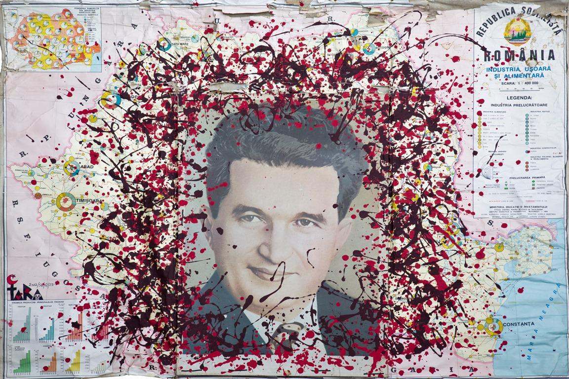 """Tara (von Neudorf) """"The Most Beloved Leader"""", 130x182 cm, 2012 kopia; ze zbiorów Anaid Art Gallery (źródło: materiały prasowe)"""