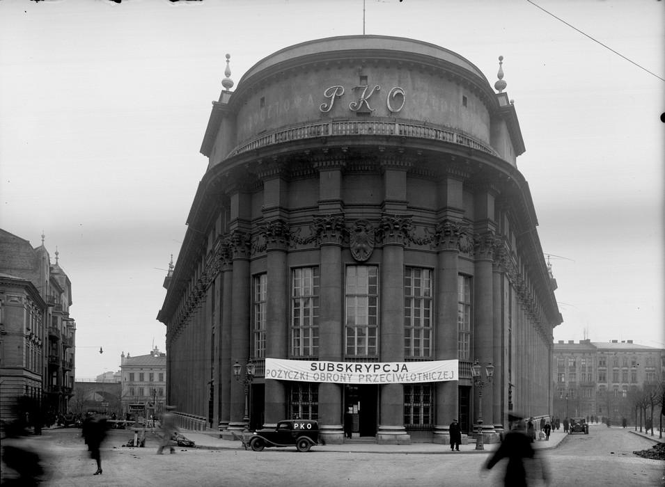 Gmach Pocztowej Kasy Oszczędności w Krakowie, proj. Adolf Szyszko Bohusz, Narodowe Archiwum Cyfrowe (źródło: materiały prasowe organizatora)