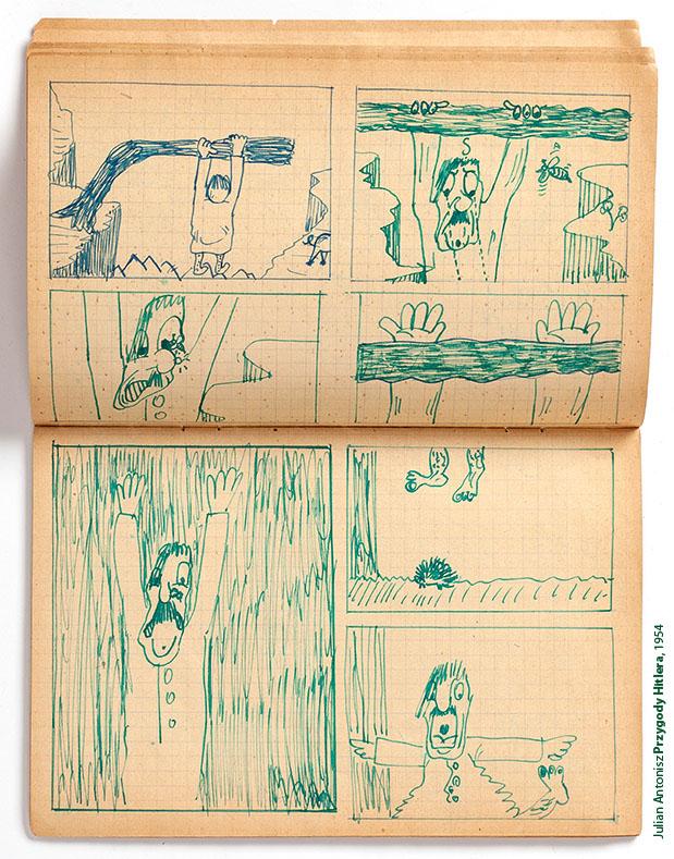 """Antonisz """"Przygody Hitlera"""" (źródło: materiały prasowe)"""