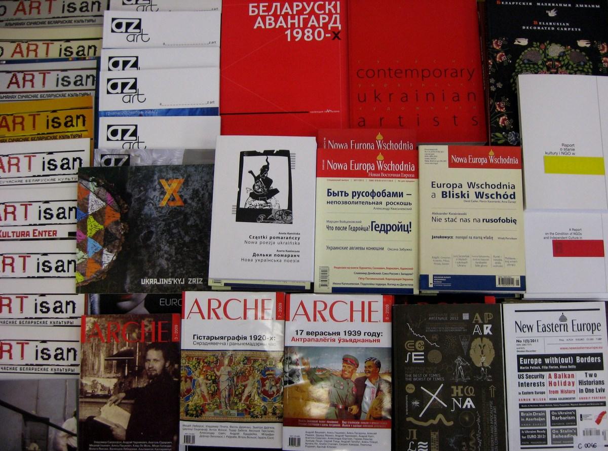 Bazar wschodnich wydawnictw, Festiwal Integracje – Mediacje w Lublinie (źródło: materiały prasowe organizatora)