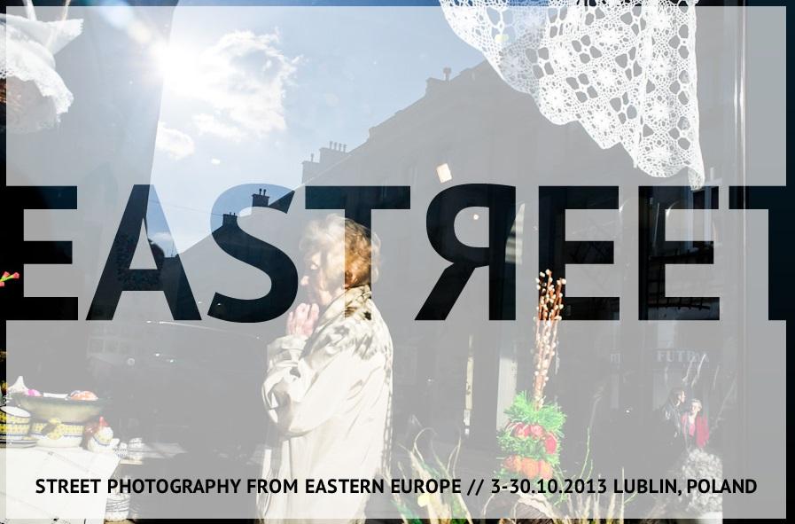 """""""Eastreet"""", grafika, Festiwal Integracje – Mediacje w Lublinie (źródło: materiały prasowe organizatora)"""