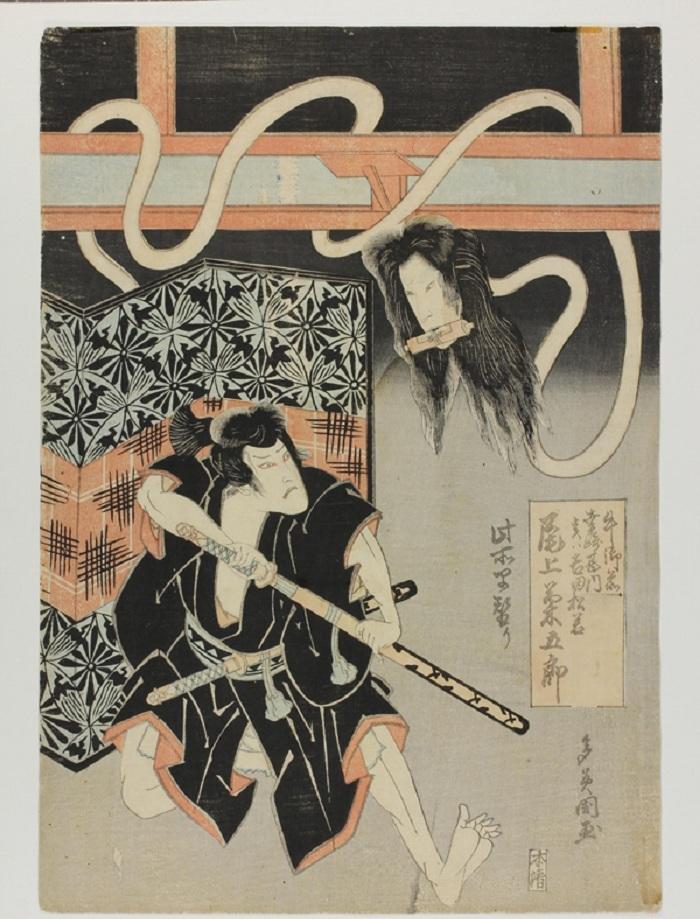 """Magie, """"Skarby Kamigaty. Japońskie drzeworyty barwne z Osaki 1780−1880"""" (źródło: mat. prasowe)"""