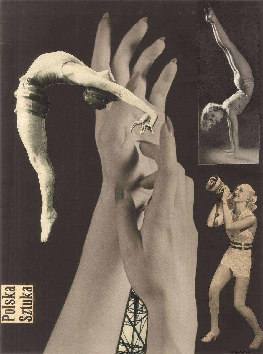 Mieczysław Choynowski, fotomontaż, 1938-42, 40 x 30 cm, z kolekcji S. Okołowicza i E. Franczak (źródło: materiały prasowe organizatora)