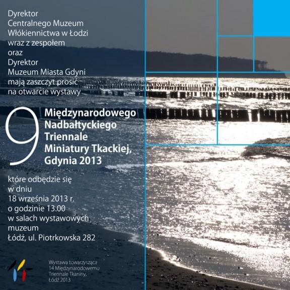 Nadbałtyckie Triennale Miniatury Tkackiej (źródło: materiały prasowe organizatora)