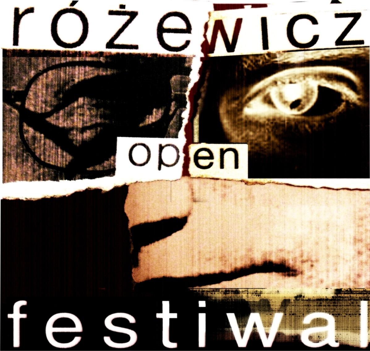 Różewicz Open Festiwal – logo (źródło: materiały prasowe)