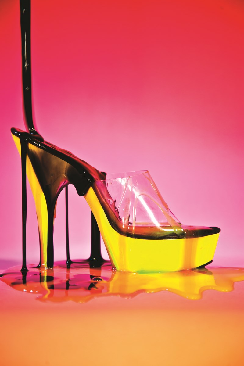 """Signe Pierce """"Stripper Heel Slime"""", 2011 (źródło: materiały prasowe organizatora)"""