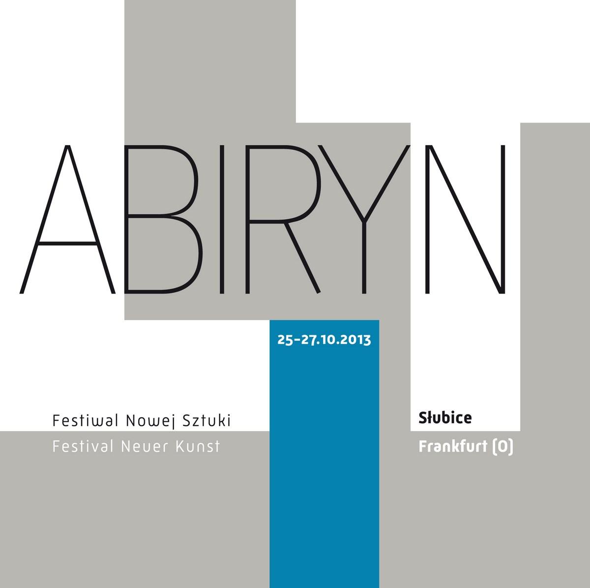 4. Festiwal Nowej Sztuki lAbiRynT, logo (źródło: materiały prasowe organizatora)