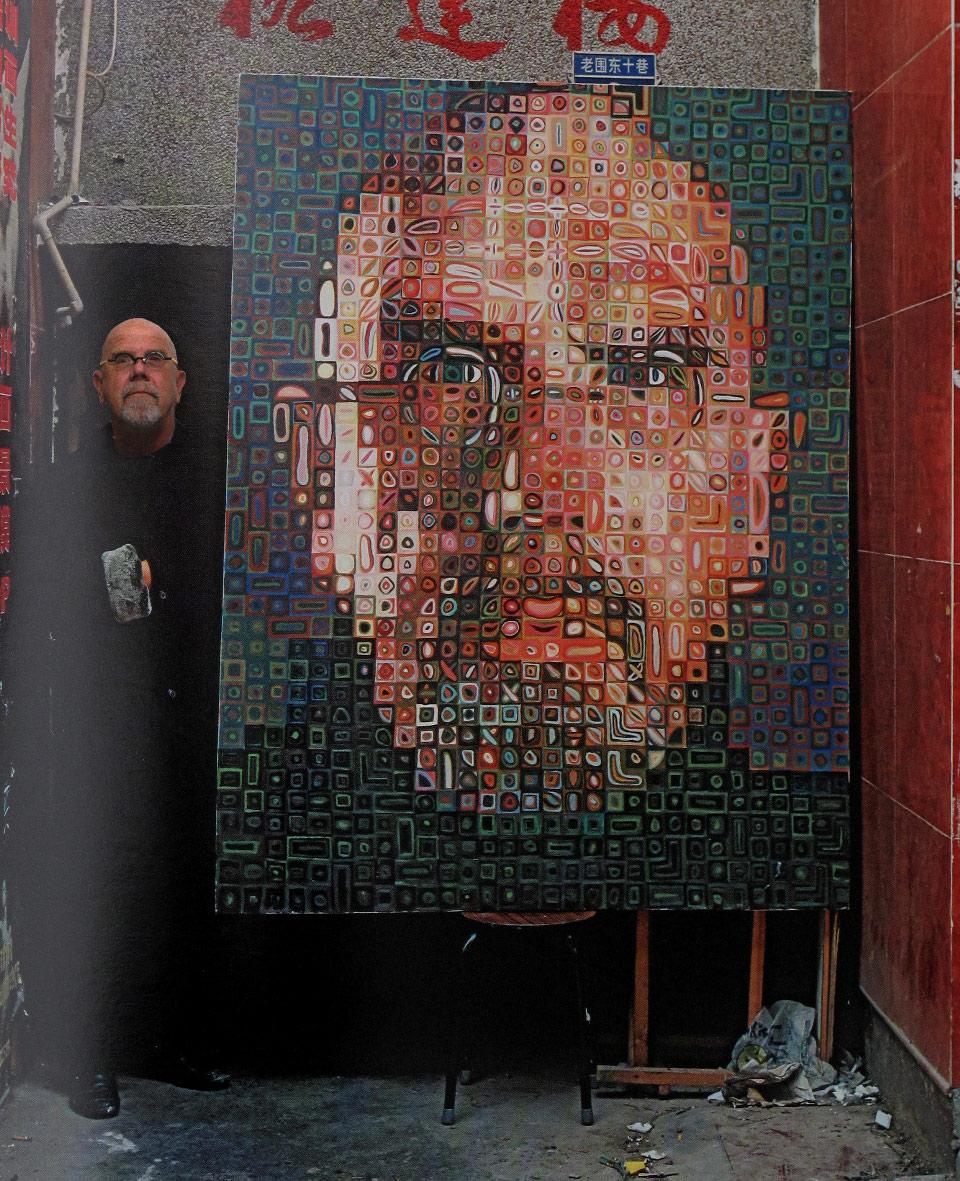 "Fot. Andreas Schmidt, ""Chuck Close"" (źródło: materiały prasowe organizatora)"