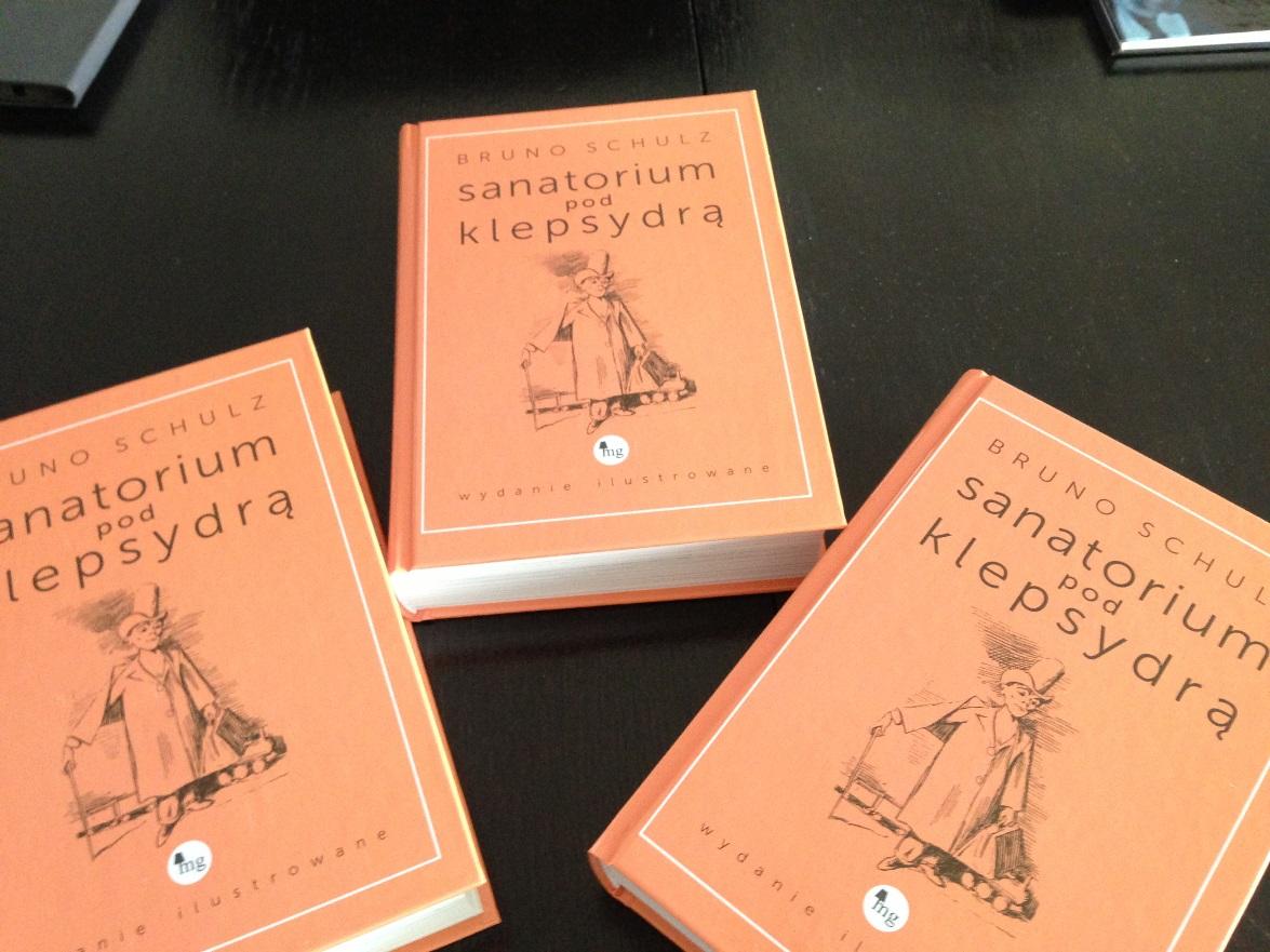 """Bruno Schulz """"Sanatorium pod klepsydrą"""" (źródło: materiały prasowe)"""