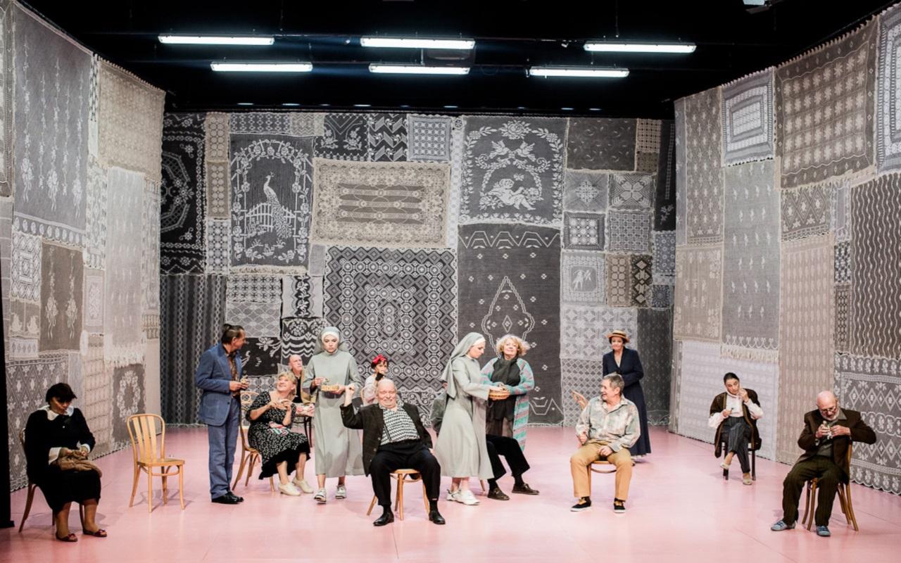 """""""Hopla, żyjemy!"""", fot. Marcin Oliva Soto (źródło: mat. prasowe - Międzynarodowy Festiwal Teatralny Dialog)"""