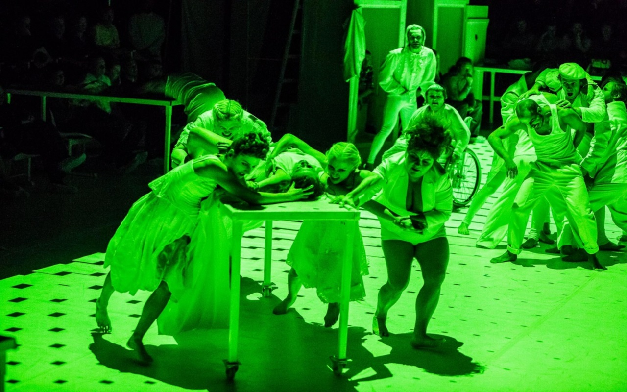 """""""Ja Pitor Reviere"""", fot. Marcin Oliva Soto (źródło: mat. prasowe - Międzynarodowy Festiwal Teatralny Dialog)"""