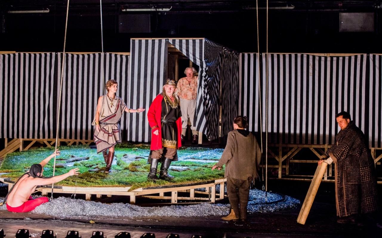 """""""Lear"""", fot. Marcin Oliva Soto (źródło: mat. prasowe - Międzynarodowy Festiwal Teatralny Dialog)"""