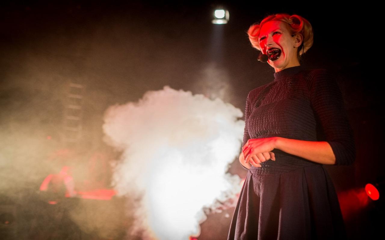 """""""Macabra Dolorosa"""", fot. Marcin Oliva Soto (źródło: mat. prasowe - Międzynarodowy Festiwal Teatralny Dialog)"""