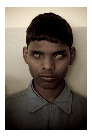 """Rajesh Kumar, """"Singh"""", z cyklu """"The blinds"""" (źródło: materiały prasowe organizatora)"""