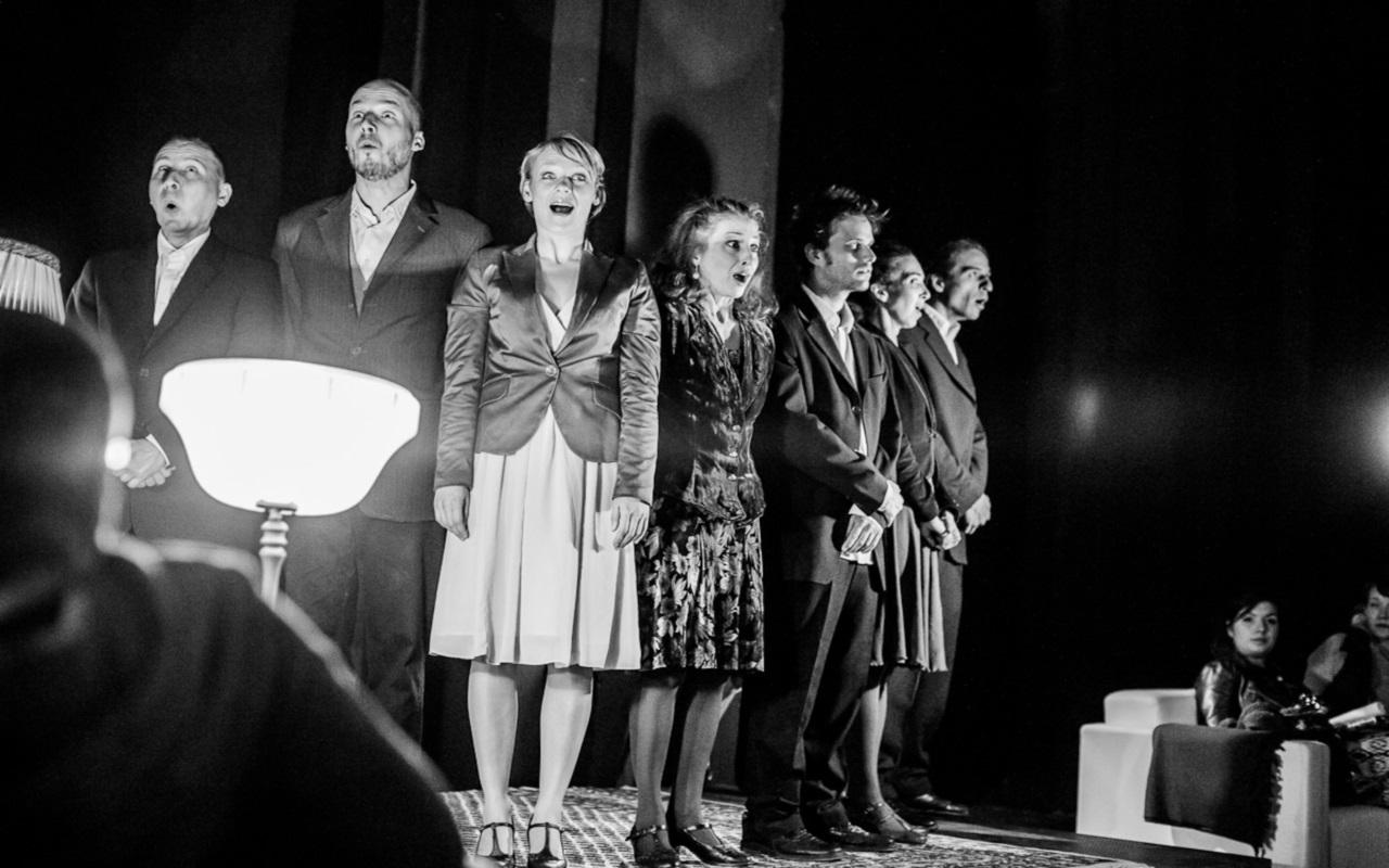 """Salon Ullissesa"", fot. Marcin Oliva Soto (źródło: mat. prasowe - Międzynarodowy Festiwal Teatralny Dialog)"