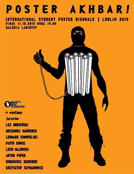 Student Poster Biennale Lublin 2013 (źródło: materiały prasowe organizatora)