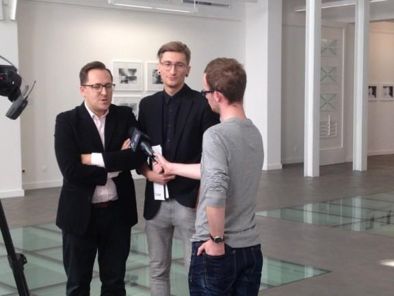 Konferencja prasowa Westivalu. Marcin Szczelina i Tomasz Malkowski czyli Architecture Snob (źródło: materiały prasowe organizatora)