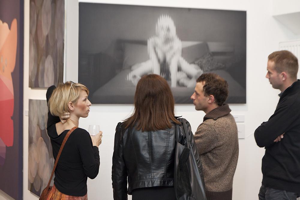 Wernisaż wystawy 41. Bielskiej Jesieni, Galeria Bielska BWA, fot. Krzysztof Morcinek (źródło: materiały prasowe organizatora)