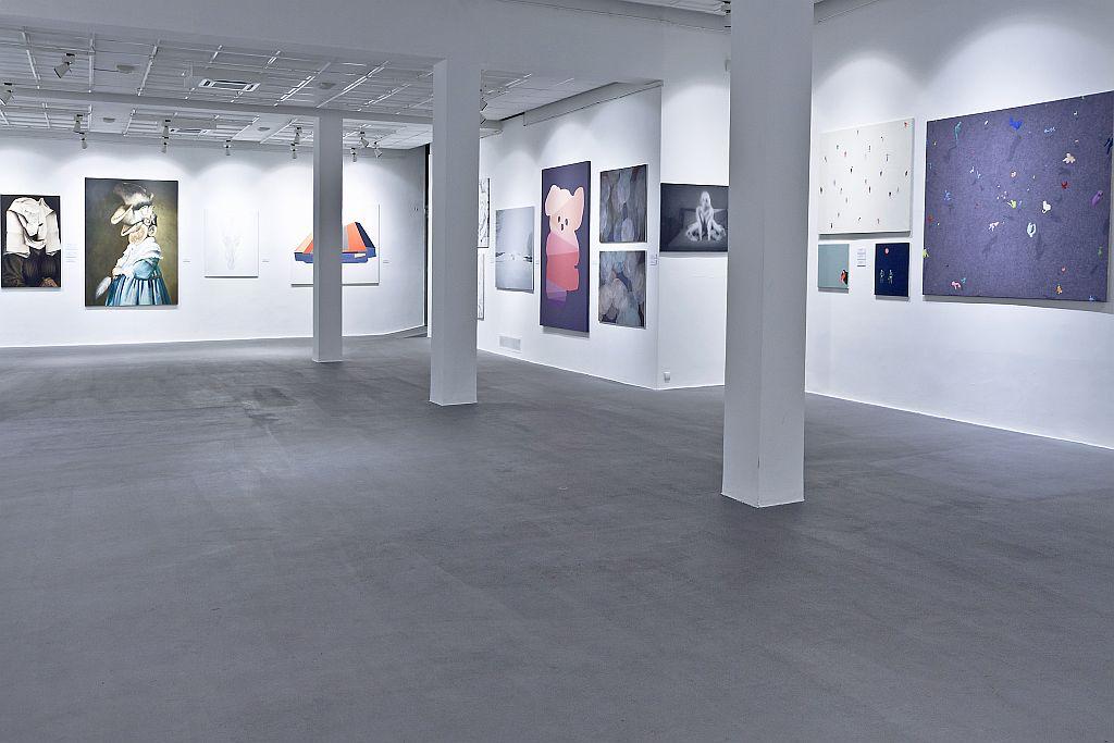 41. Bielska Jesień, fragment wystawy, Galeria Bielska BWA, fot. Krzysztof Morcinek (źródło: materiały prasowe organizatora)
