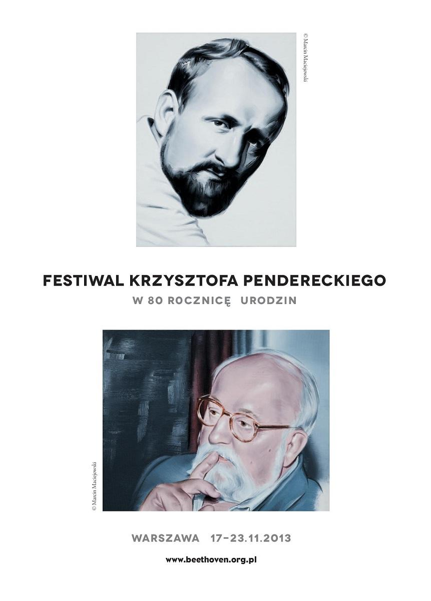 Krzysztof Penderecki (źródło: Archiwum: Stowarzyszenie im. Ludwiga van Beethovena)
