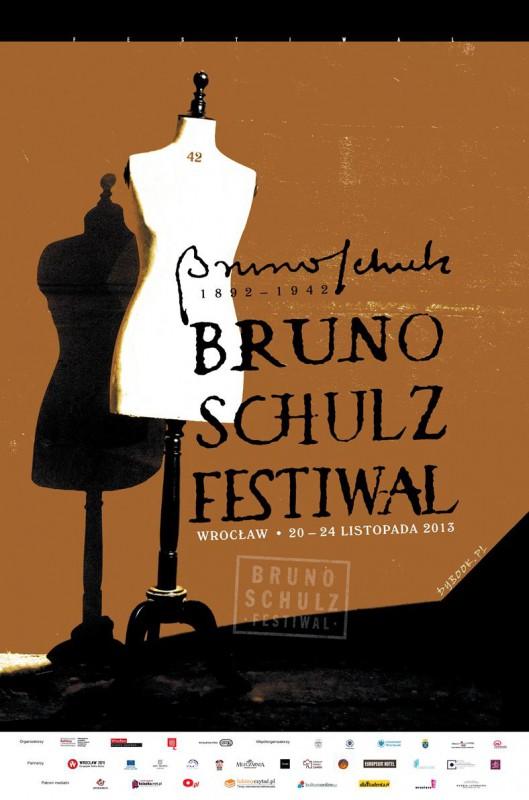 Bruno Schulz. Festiwal – plakat (źródło: materiały prasowe)