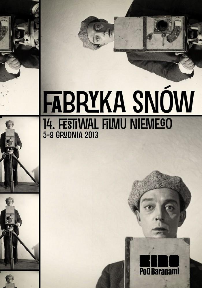 Plakat 14. Festiwalu Filmu Niemego, proj. Łukasz Lawrenz (źródło: materiały prasowe organizatora)
