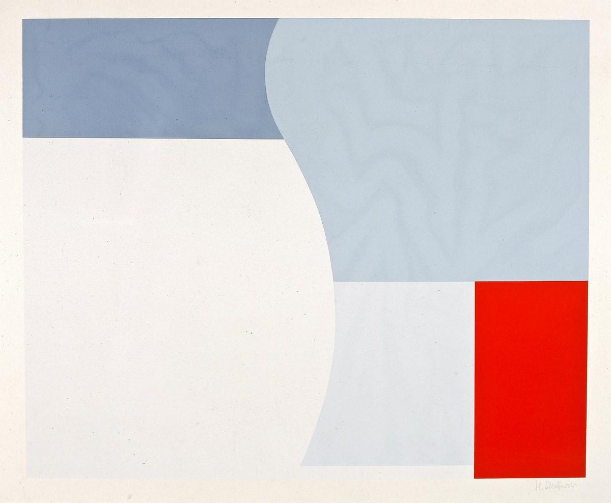 """Henryk Stażewski, """"Kompozycja"""", 1932 (źródło: materiały prasowe organizatora)"""