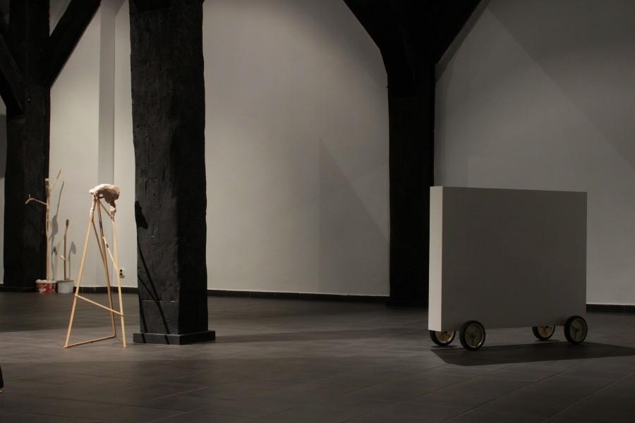 """""""Jamais vu"""" wystawa prezentowana w Galerii Sztuki Wozownia w Toruniu (źródło: materiały prasowe)"""