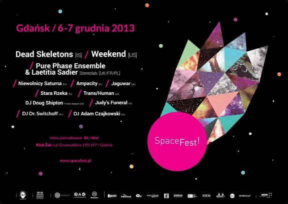 SpaceFest!, plakat (źródło: mat. prasowe)