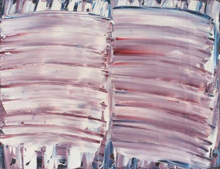 """Jacek Sempoliński, """"Łąka"""", 1971, olej, płótno, 89x117 cm (źródło: materiały prasowe organizatora)"""