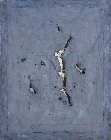 """Jacek Sempoliński, """"Męćmierz"""", 1979, olej, płótno, 82x65 cm (źródło: materiały prasowe organizatora)"""