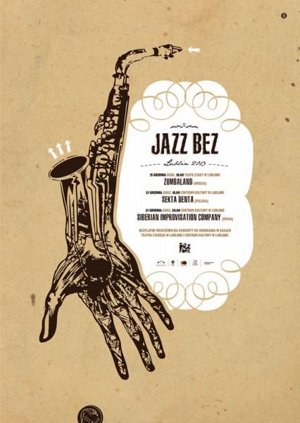 Jazz Bez, plakat (źródło: mat. prasowe)