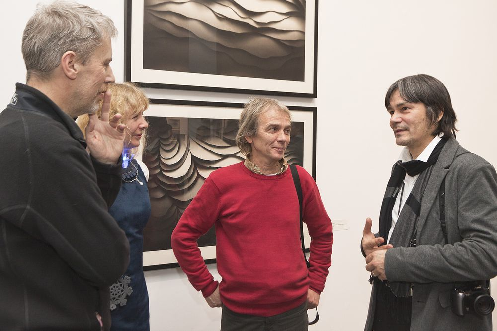 Od lewej artyści: Piotr Czadankiewicz, Jolanta Nikt, Zdzisław Wiatr, Zdzisław Nitka (źródło: materiały prasowe organizatora)