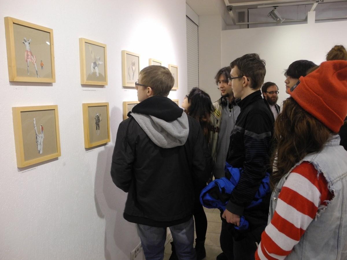 Wernisaż wystawy Basi Bańdy, Galeria Sztuki w Legnicy (źródło: materiały prasowe organizatora)