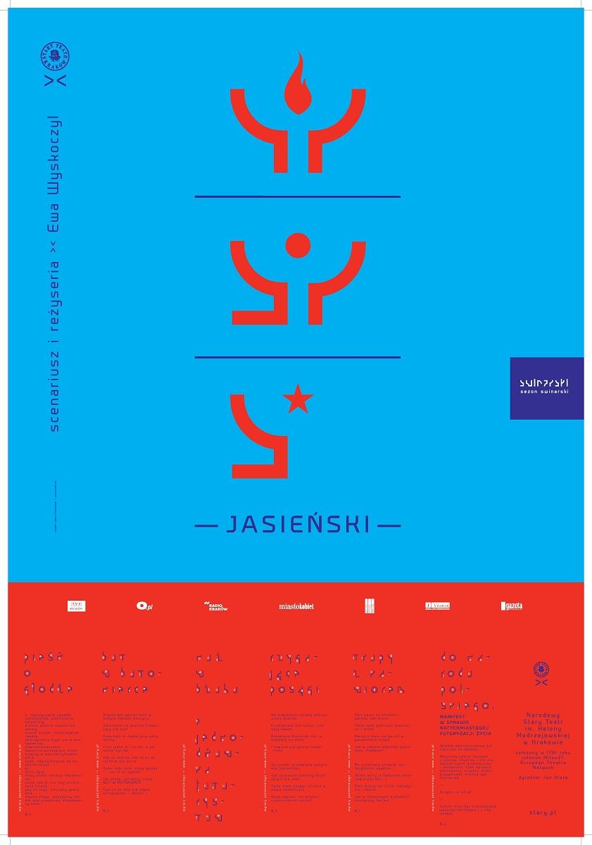 """Jasieński"", plakat - Joanna Howańska (źródło: mat. prasowe)"