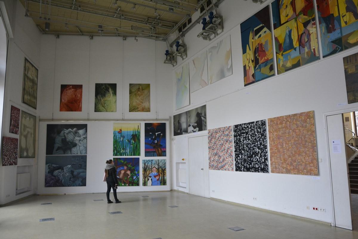 Nagroda Artystyczna Nowy Obraz / Nowe Spojrzenie 2014, Aula Uniwersytetu Artystycznego w Poznaniu (źródło: materiały prasowe organizatora)