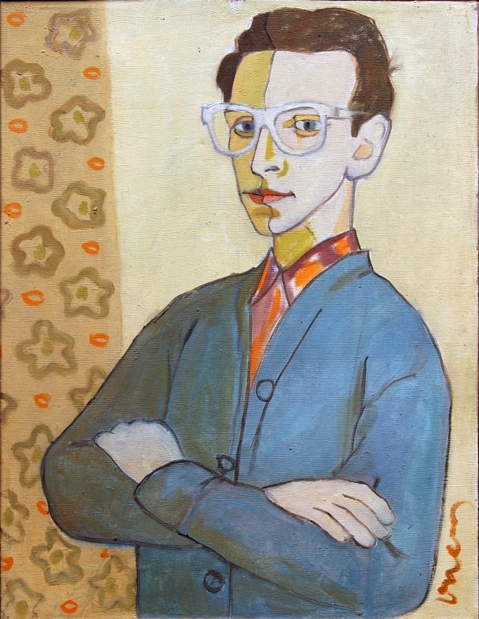 """Romuald Drzewiecki, """"Autoportret"""", 1957 (źródło: materiały prasowe organizatora)"""