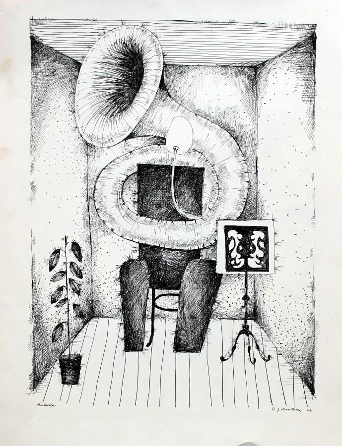 """Romuald Drzewiecki, """"Niedziela"""", 1966 (źródło: materiały prasowe organizatora)"""