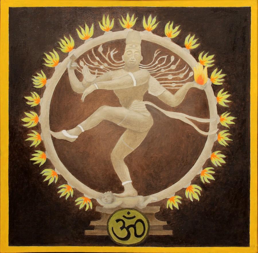 """Romuald Drzewiecki, """"Świątynia hinduizmu. Nataradza tańczący. Siwa"""", 2013 (źródło: materiały prasowe organizatora)"""