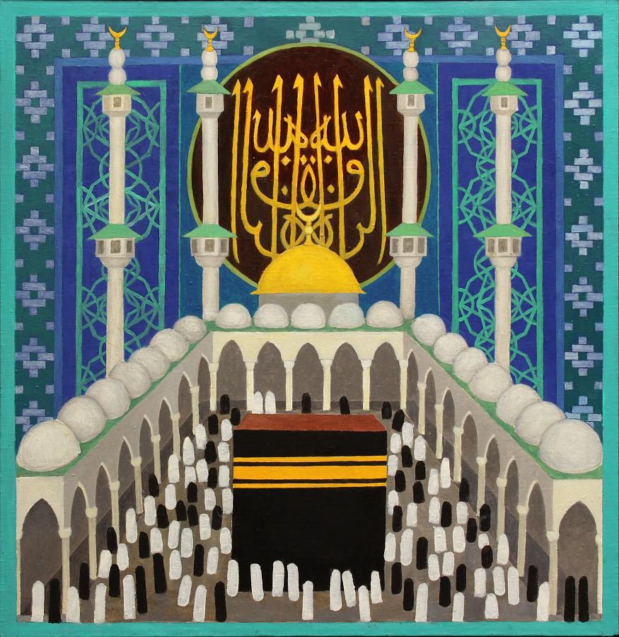 """Romuald Drzewiecki, """"Świątynia islamska. Meczet"""", 2012 (źródło: materiały prasowe organizatora)"""