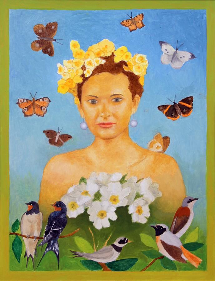 """Romuald Drzewiecki, """"Wiosna"""", 2010 (źródło: materiały prasowe organizatora)"""