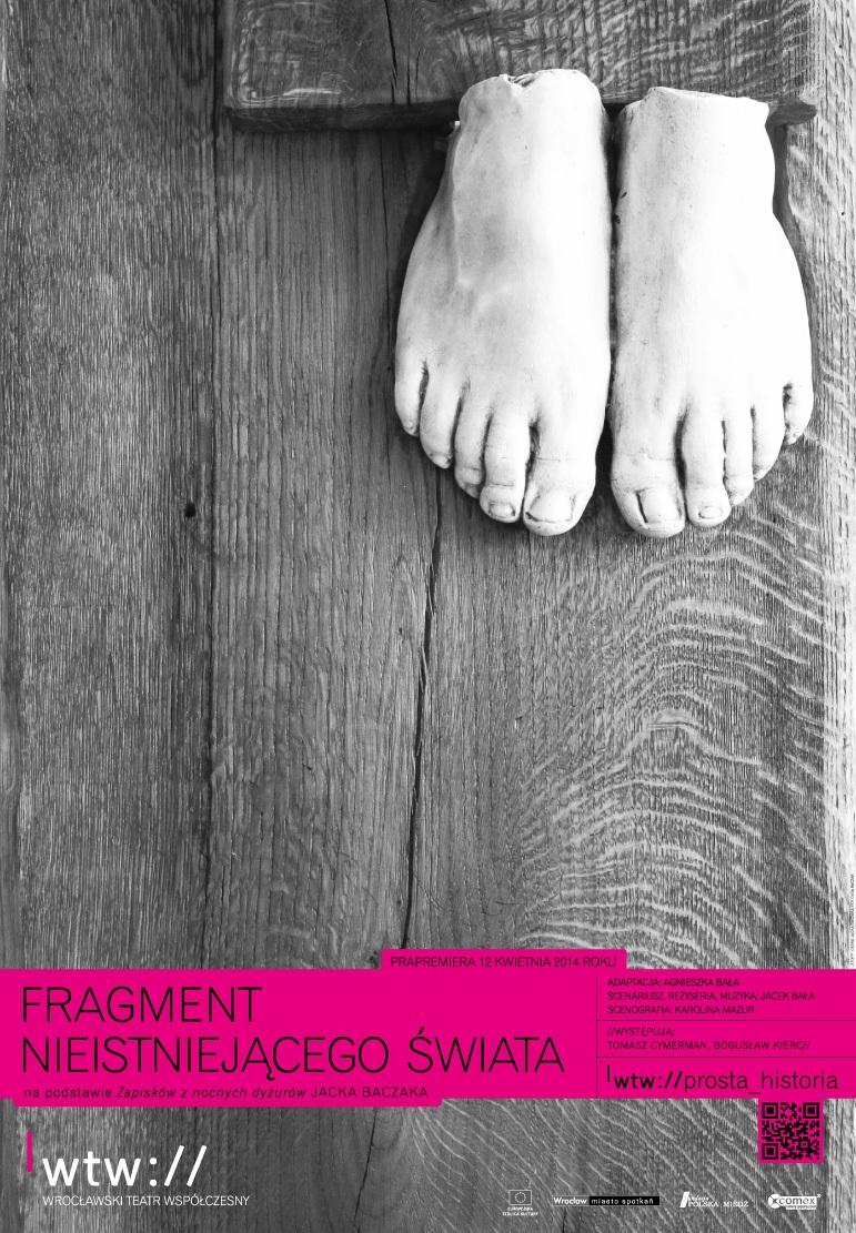 """""""Fragment nieistniejącego świata"""", plakat (źródło: mat. prasowe)"""