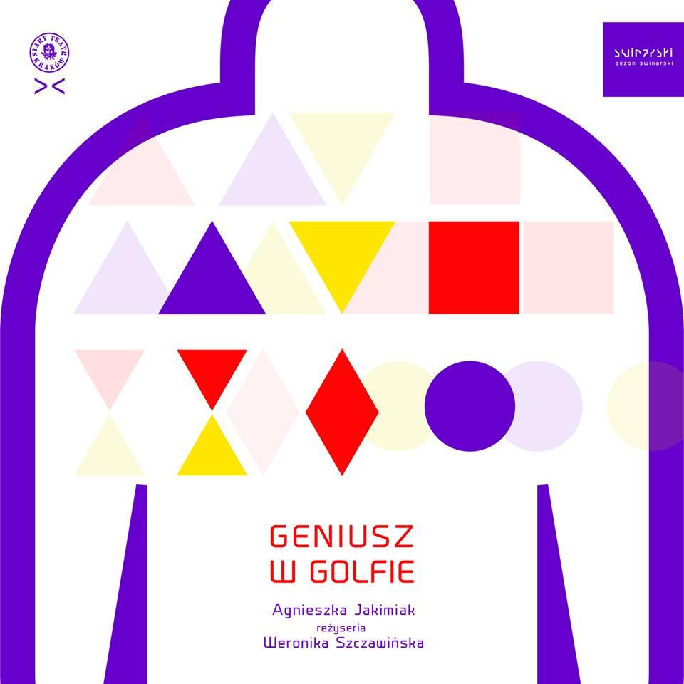 """""""Geniusz w golfie"""", plakat: Joanna Howańska (źródło: mat. prasowe)"""