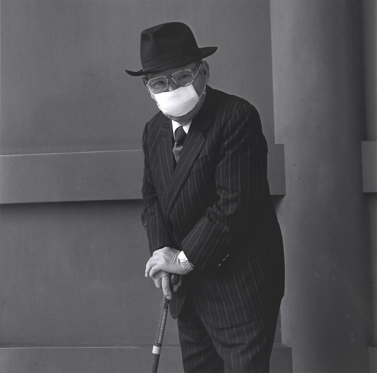 """Hiroo Kikai, z serii: """"Ludzie z Asakusy"""" (źródło: materiały prasowe organizatora)"""