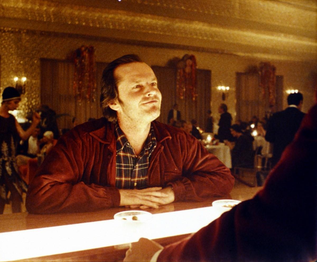 """Stanley Kubrick, """"Lśnienie"""" (Wlk. Bryt./USA, 1980). Jack Nicholson jako Jack Torrance. © Warner Bros. Entertainment Inc. (źródło: materiały prasowe organizatora)"""