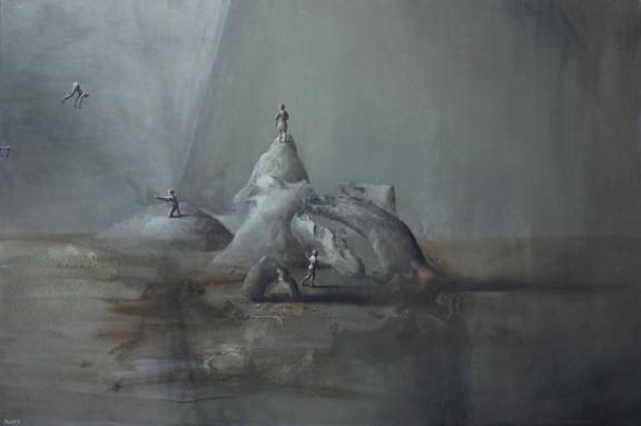 """Łukasz Huculak, """"Koniec"""", 2014 (źródło: materiały prasowe organizatora)"""