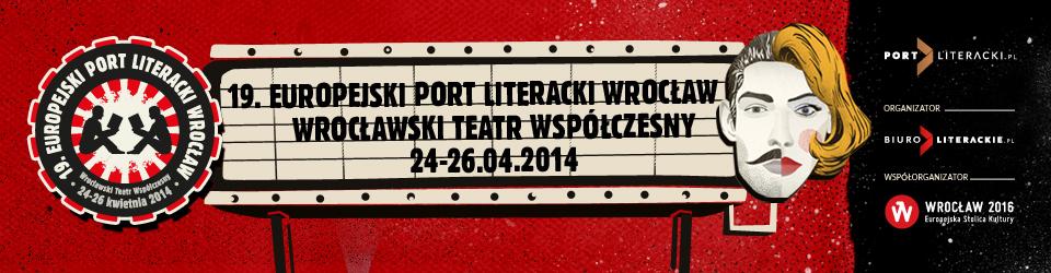 19. Europejski Port Literacki Wrocław – baner (źródło: materiały prasowe)